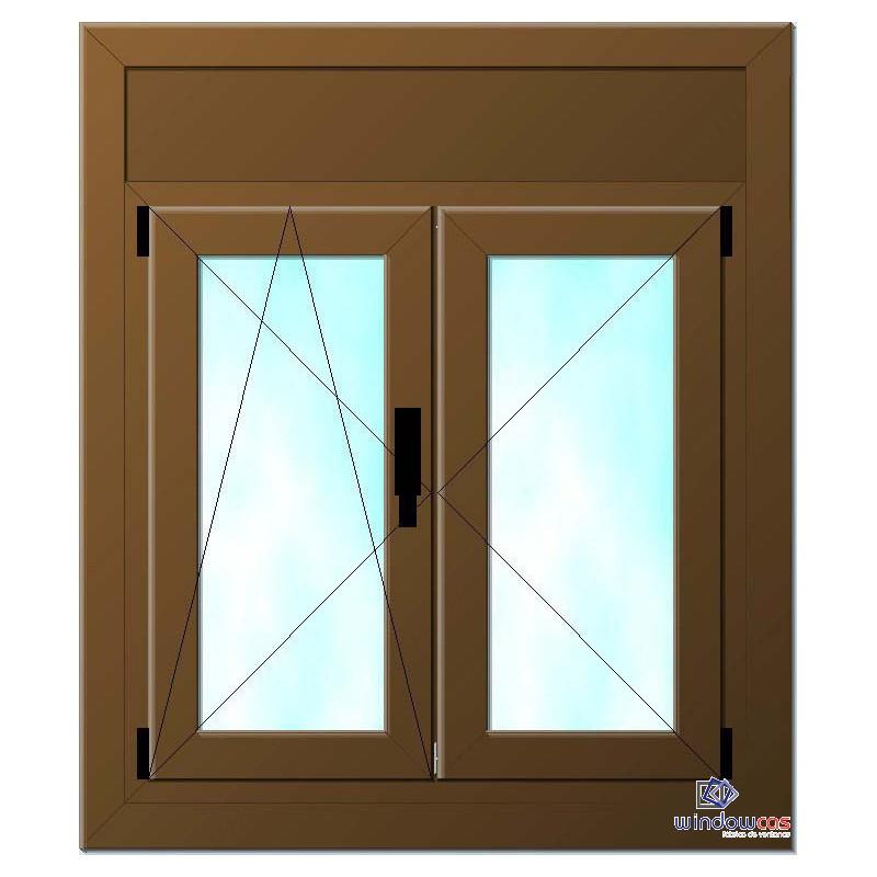 Precio ventana pvc con persiana excellent persianas de - Precio ventanas pvc kommerling ...