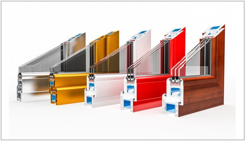 Perfiles para ventanas y puertas de pvc lacados en todos los colores.